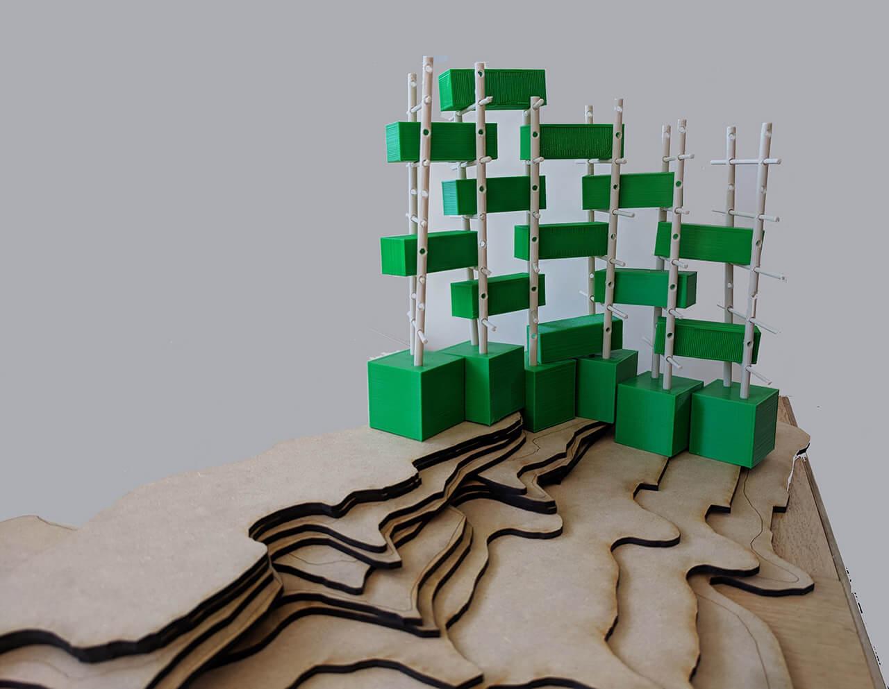 BIRDLINK Terrain Model Small