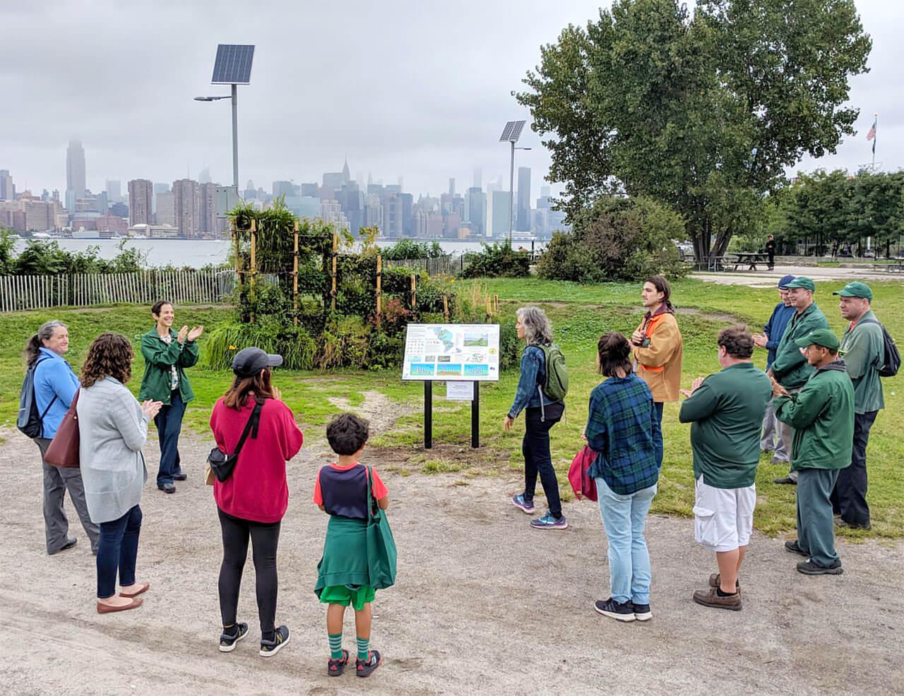 Birdlink Habitat Installation New York City