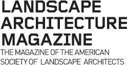 Landscape Architecture Magazine Logo